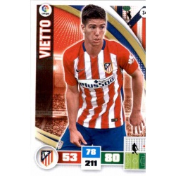 Vietto Atlético Madrid 34 Adrenalyn XL La Liga 2015-16