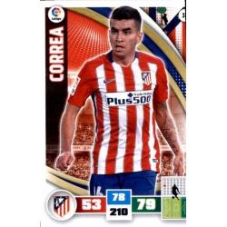 Correa Atlético Madrid 35 Adrenalyn XL La Liga 2015-16
