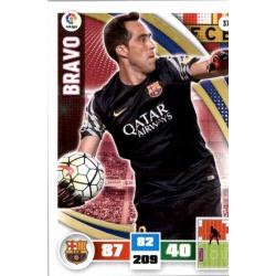Bravo Barcelona 37 Adrenalyn XL La Liga 2015-16
