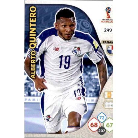 Alberto Quintero Panamá 249 Adrenalyn XL Russia 2018