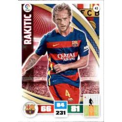 Rakitic Barcelona 43 Adrenalyn XL La Liga 2015-16