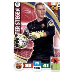 Ter Stegen Barcelona 48 Adrenalyn XL La Liga 2015-16