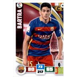 Bartra Barcelona 49 Adrenalyn XL La Liga 2015-16