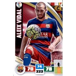 Aleix Vidal Barcelona 51 Adrenalyn XL La Liga 2015-16
