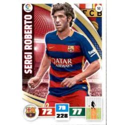 Sergi Roberto Barcelona 52 Adrenalyn XL La Liga 2015-16