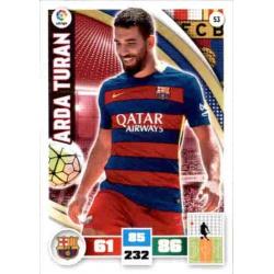 Arda Turan Barcelona 53 Adrenalyn XL La Liga 2015-16
