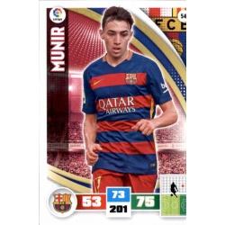 Munir Barcelona 54 Adrenalyn XL La Liga 2015-16