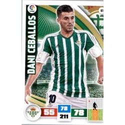 Dani Ceballos Betis 61 Adrenalyn XL La Liga 2015-16