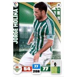 Jorge Molina Betis 65 Adrenalyn XL La Liga 2015-16