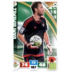 Dani Giménez Betis 66 Adrenalyn XL La Liga 2015-16