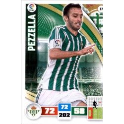 Pezzella Betis 67 Adrenalyn XL La Liga 2015-16