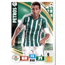 Petros Betis 68 Adrenalyn XL La Liga 2015-16