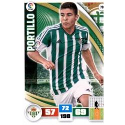 Portillo Betis 70 Adrenalyn XL La Liga 2015-16