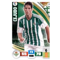 Cejudo Betis 71 Adrenalyn XL La Liga 2015-16