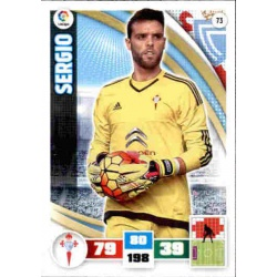 Sergio Celta 73 Adrenalyn XL La Liga 2015-16