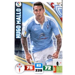 Hugo Mallo Celta 74 Adrenalyn XL La Liga 2015-16