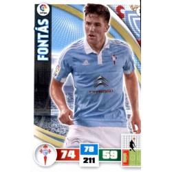 Fontás Celta 75 Adrenalyn XL La Liga 2015-16