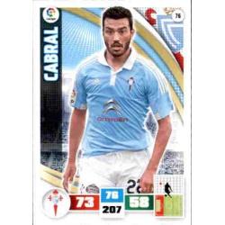 Cabral Celta 76 Adrenalyn XL La Liga 2015-16