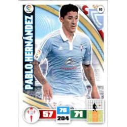 Pablo Hernández Celta 80 Adrenalyn XL La Liga 2015-16