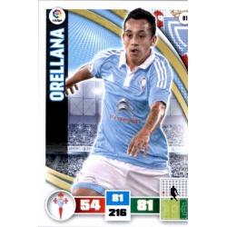 Orellana Celta 81 Adrenalyn XL La Liga 2015-16