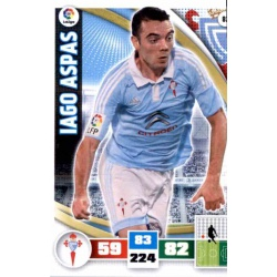 Iago Aspas Celta 82 Adrenalyn XL La Liga 2015-16