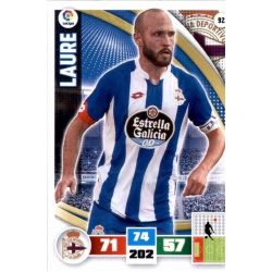 Laure Deportivo 92 Adrenalyn XL La Liga 2015-16