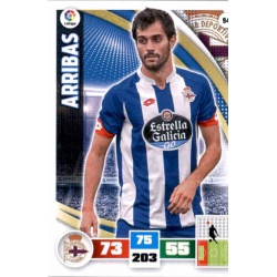 Arribas Deportivo 94 Adrenalyn XL La Liga 2015-16