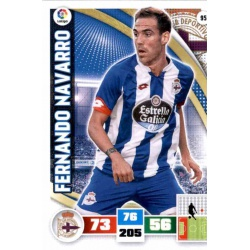 Fernando Navarro Deportivo 95 Adrenalyn XL La Liga 2015-16