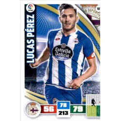 Lucas Pérez Deportivo 101 Adrenalyn XL La Liga 2015-16