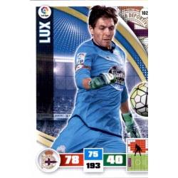 Lux Deportivo 102 Adrenalyn XL La Liga 2015-16