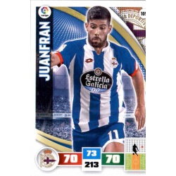 Juanfran Deportivo 105 Adrenalyn XL La Liga 2015-16