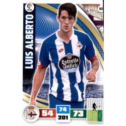 Luis Alberto Deportivo 107 Adrenalyn XL La Liga 2015-16