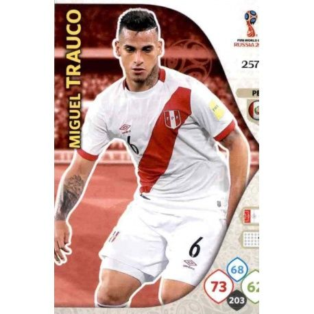 Miguel Trauco Perú 257 Adrenalyn XL World Cup 2018