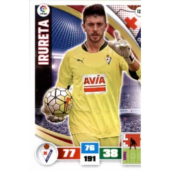 Irureta Eibar 120 Adrenalyn XL La Liga 2015-16