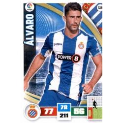Álvaro Espanyol 129 Adrenalyn XL La Liga 2015-16