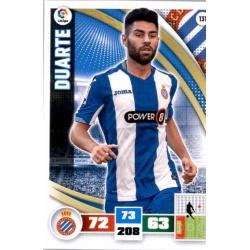 Duarte Espanyol 131 Adrenalyn XL La Liga 2015-16