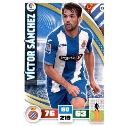 Víctor Sánchez Espanyol 132 Adrenalyn XL La Liga 2015-16