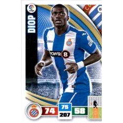 Diop Espanyol 133 Adrenalyn XL La Liga 2015-16
