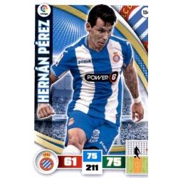 Hernán Pérez Espanyol 134 Adrenalyn XL La Liga 2015-16