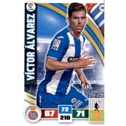 Víctor Álvarez Espanyol 135 Adrenalyn XL La Liga 2015-16