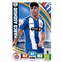 Marco Asensio Espanyol 136 Adrenalyn XL La Liga 2015-16