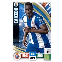 Caicedo Espanyol 137 Adrenalyn XL La Liga 2015-16