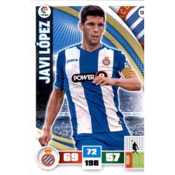 Javi López Espanyol 139 Adrenalyn XL La Liga 2015-16