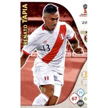 Renato Tapia Perú 259 Adrenalyn XL Russia 2018
