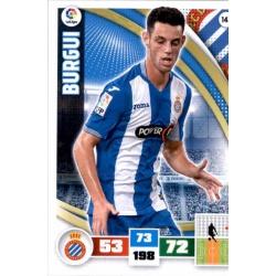 Burgui Espanyol 143 Adrenalyn XL La Liga 2015-16