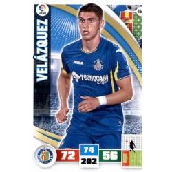 Velázquez Getafe 158 Adrenalyn XL La Liga 2015-16