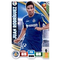 Juan Rodríguez Getafe 159 Adrenalyn XL La Liga 2015-16