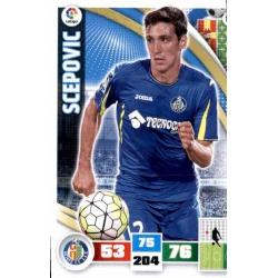 Scepovic Getafe 162 Adrenalyn XL La Liga 2015-16