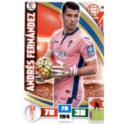 Andrés Fernández Granada 163 Adrenalyn XL La Liga 2015-16