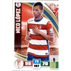 Nico López Granada 179 Adrenalyn XL La Liga 2015-16